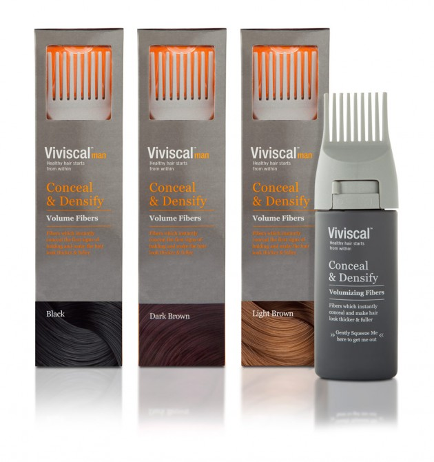 Viviscal Man Conceal & Densify Volumizing Fibers