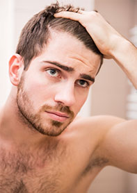 Male vitamins hair loss